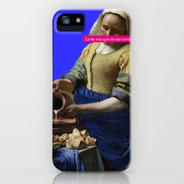 De Melkmaid iPhone Case
