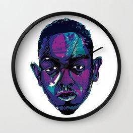 Control - Kendrick Lamar Wall Clock