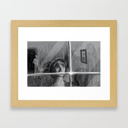 Dead Hearts Framed Art Print