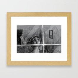 Dead Hearts Framed Art Print