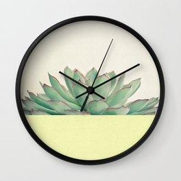 Succulent Dip II Wall Clock