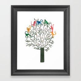 Colours are the smile of nature Framed Art Print