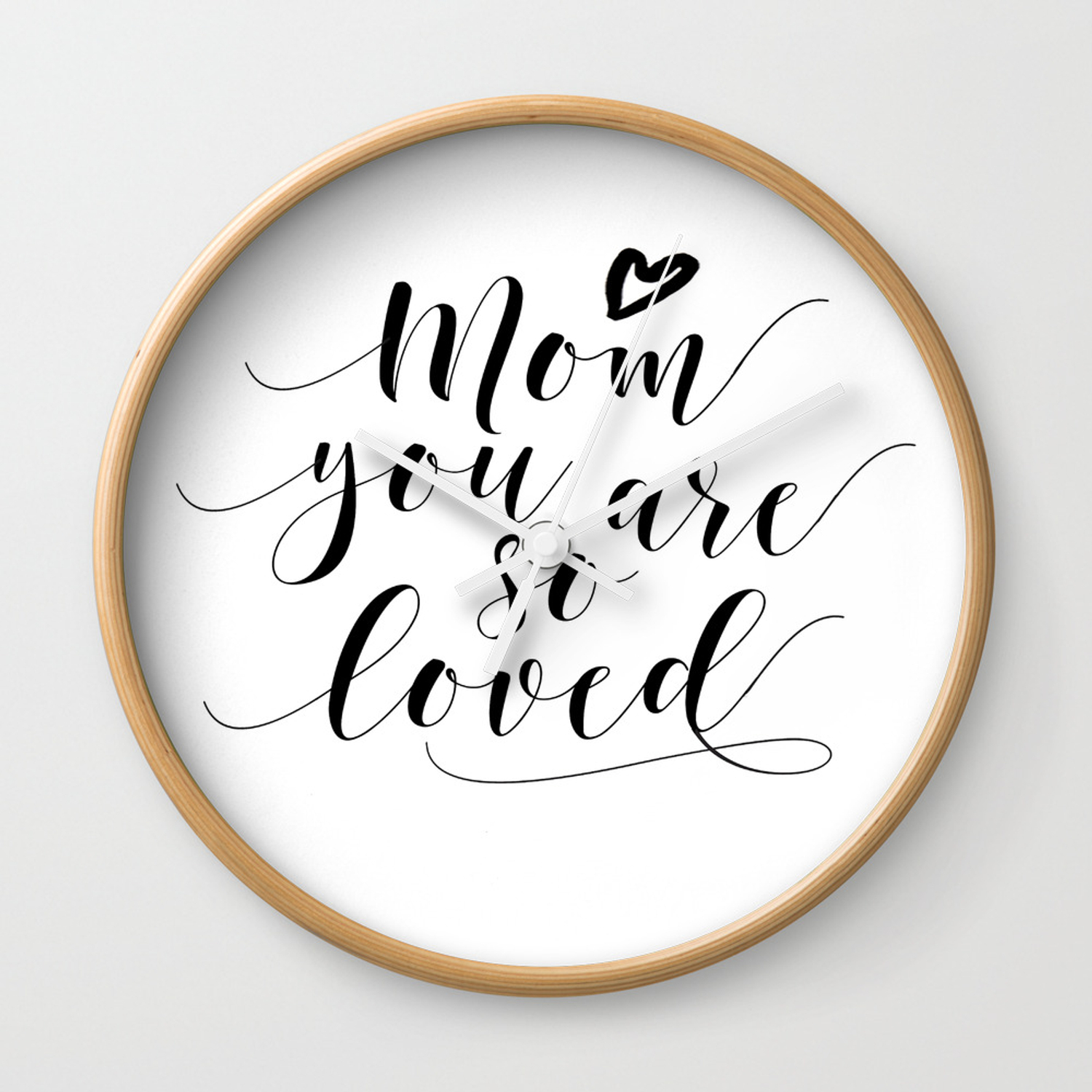 Mom You Are So Loved Love Gift For Mom Mom Gifts Quote Prints