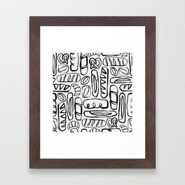 Carb Loading Framed Art Print