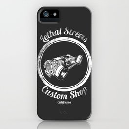 Lethal Streets iPhone Case