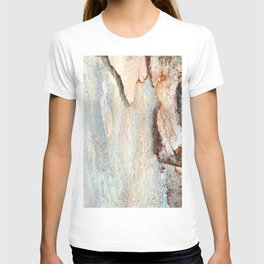 Eucalyptus tree bark and wood T-shirt