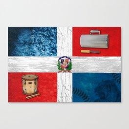 Dominica my Republic Canvas Print