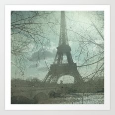 Monday in Paris Art Print