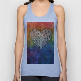 CIRCUIT LOVE Unisex Tank Top