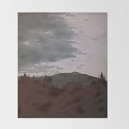 Film + Grain: Oregon Landscape Throw Blanket
