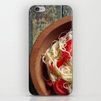pasta iPhone & iPod Skins featuring Pasta by Eli Potter