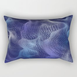 Purple Pixie Dust Rectangular Pillow