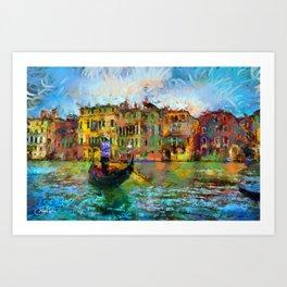 Venice - Signed Art Print