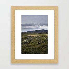 Hverfjall, Mývatn, Iceland Framed Art Print