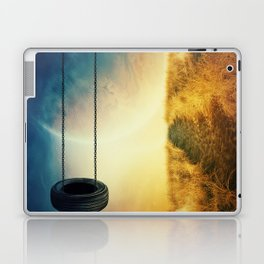 Breaking the physical laws Laptop & iPad Skin