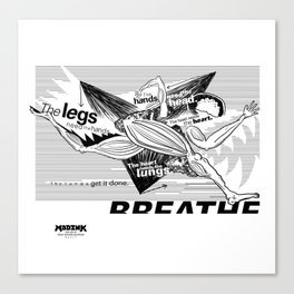 MADINK LIVE Series: BREATHE Canvas Print