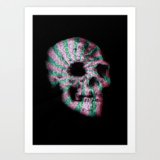 skull. Art Print