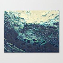 Underwater Waves Canvas Print