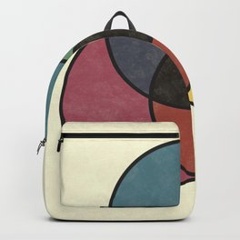 Matthew Luckiesh: The Subtractive Method of Mixing Colors (1921), vintage re-make Backpack