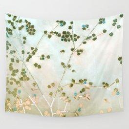 mosaica glitterati in blue + gold Wall Tapestry