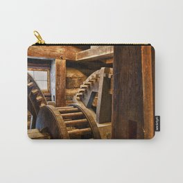 Wooden Gears Carry-All Pouch