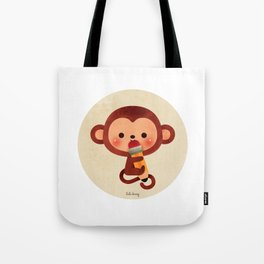 Monkey See Tote Bag