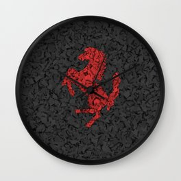 Homage to Ferrari Wall Clock