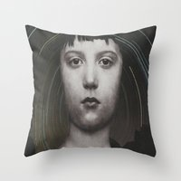 celestial Throw Pillows featuring Celestial by Brandon Reim