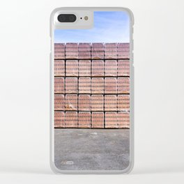 Another Brick For The Wall Clear iPhone Case