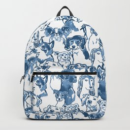 Dog Park, indigo Backpack