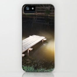 Crossing the Threshold between Life and Death iPhone Case