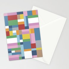 Map Close Stationery Cards