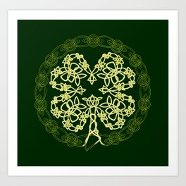 Celtic Carolans Art Print