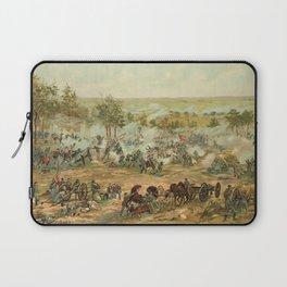 Civil War Battle of Gettysburg July 1-3 1863 by Paul Philippoteaux Laptop Sleeve
