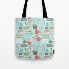 Kitchen Pattern Tote Bag