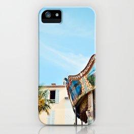 Antique Antibes iPhone Case