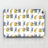 finn and jake iPad Cases featuring  Finn&Jake  by memo_alatouly
