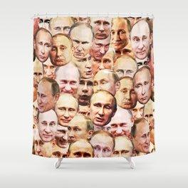 Mega Putin Shower Curtain