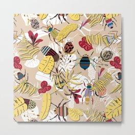 jungle bugs Metal Print