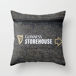 Guinness Storehouse, Dublin, Ireland Throw Pillow