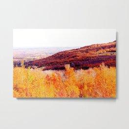 Autumn Valley - Home Decor. Metal Print