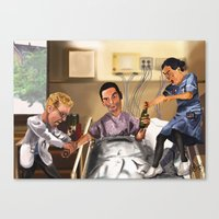 alcohol Canvas Prints featuring No alcohol. by Jamie Briggs