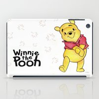 winnie the pooh iPad Cases featuring Winnie the Pooh by Lozza.