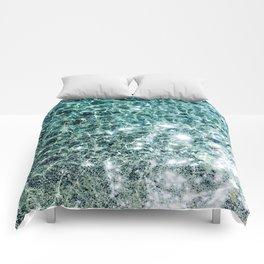 Seaside marble Comforters