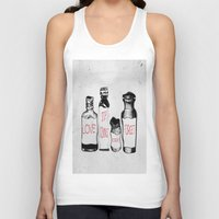 chemistry Tank Tops featuring chemistry of love by Sofia Gerona