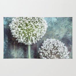 Allium Flowers Rug