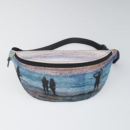 Evening at the beach Fanny Pack