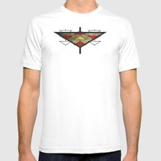 Navajo Arrows SMALL Mens Fitted Tee White