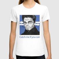 leonardo T-shirts featuring Leonardo DiCaprio by Pazu Cheng