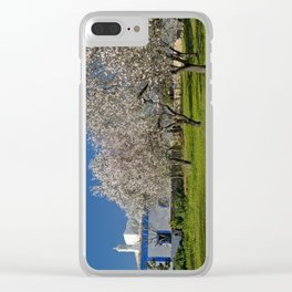 An Algarve almond orchard in Spring Clear iPhone Case
